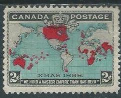 Timbre Canada 1898 Neuf - Oblitérés