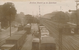 CPA - Pays-Bas - Arnhem - Gezicht Op De Spoorbaan - Arnhem