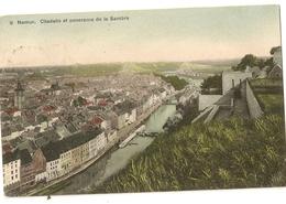 """8 - Namur- Citadelle Et Panorama De La Sambre """" SBP Colorisée"""" - Namur"""