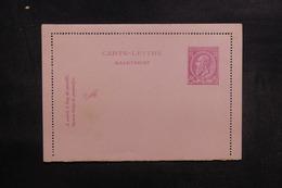 BELGIQUE - Entier Postal Non Circulé - L 39084 - Letter-Cards