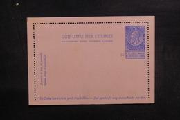 BELGIQUE - Entier Postal Non Circulé - L 39086 - Letter-Cards