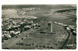 Maroc - RABAT - La Tour Hassan Et Ruines De La Mosquée - Postée En 1955 - Vue Aérienne - Style Photo Véritable - Rabat