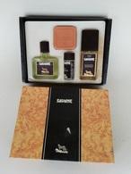 Coffret Ancien De Collection Parfumerie J.B. Williams, Savane, Après-rasage, Eau De Toilette, Savon, Déodorant - Uomo
