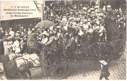 FR76 ROUEN - Millénaire Normard - 1911 - Les Moissoneurs - Animée - Belle - Carnevale