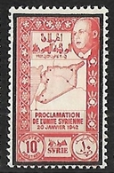 SYRIE N°274 N** - Syrie (1919-1945)