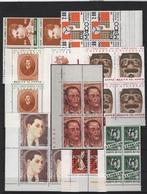 MESSICO   1971/74 -  Annata Quasi Cpl. 9v. In Belle Quartine Nuovi** Perfetti - Messico