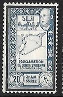 SYRIE N°275 N** - Syrie (1919-1945)