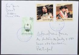 Guine-Bissau - Cover To Portugal Janet Michael Jackson - Guinée-Bissau