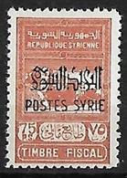 SYRIE N°286 N* - Syria (1919-1945)