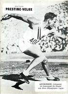 Prestine Velox Anderson Winner Lancement Du Disque Aux Jeux Olympiques 1932 Athletic Disk En TB.Etat - Otros