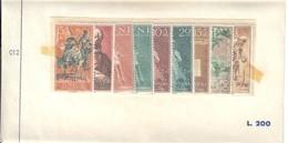 Sahara Espanol 1958 9 Valori Nuovi Cod.fra.1193 - Sahara Spagnolo