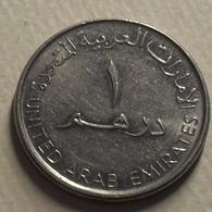 2007 - Emirats Arabes Unis - United Arab Emirates - 1428 - 1 DIRHAM, Reduce Size, Petit Module, KM 6.2 - Emirats Arabes Unis