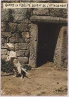 CPM - Photo Légende LOUIS BUFFIER - HUMOUR - CHIEN - Edition Lyna / N°101 (légèrement écornée) - Illustrateurs & Photographes