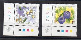 SINGAPOUR - SINGAPORE - FLOWERS - FLEURS - 2009 - - Singapour (1959-...)