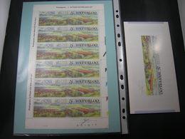 "BELG.1990 F2376 FEUILLET/VEL **: "" WATERLOO 1815-1990 ""  (signé Jacques Doppée ,met Handtekening) - Full Sheets"