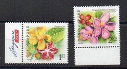 SINGAPOUR - SINGAPORE - FLOWERS - FLEURS - 2010 - - Singapour (1959-...)