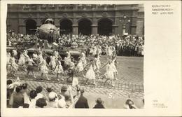 Cp Wien 1. Innere Stadt Österreich, 10. Deutsches Sängerbundesfest 1928, Der Festzug, Umzugswagen - Vienna