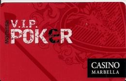 CASINO MARBELLA  SPAIN - Casinokarten