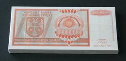 Serbia - 100000000000 (BILLION) Dinars 1993 UNC Seria A - Servië