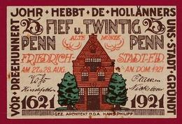 Allemagne 1 Notgeld 25 Pfenning  Stadt  Gründt (RARE ) Dans L 'état Lot N °4499 - Collections