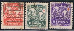 (E 897) ESPAÑA  // YVERT 744, 745, 746 // EDIFIL 993, 994, 995 // 1945 - 1931-Hoy: 2ª República - ... Juan Carlos I