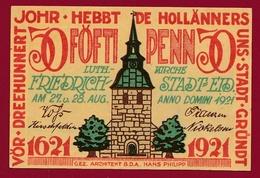 Allemagne 1 Notgeld 50 Pfenning  Stadt  Gründt (RARE ) Dans L 'état Lot N °4500 - Collections