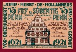 Allemagne 1 Notgeld 75 Pfenning  Stadt  Gründt (RARE ) Dans L 'état Lot N °4501 - Collections
