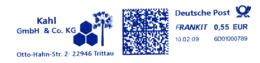 Freistempel 3375 Kahl Blumen Waben - [7] Federal Republic