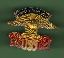 MOTO *** HARLEY-DAVIDSON *** MADEIN USA EST 1903 *** 1018 (80) - Motos