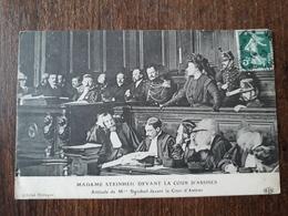 L23/264  ATTITUDE DE Mme STEINHEIL DEVANT LA COUR D'ASSISES - Events