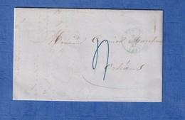 Lettre Ancienne De 1847 - Envoi De PARIS à M. Crosnier à ORLEANS - Signature à Identifier - Berdec ? Verdec ? Verdel ? - 1801-1848: Voorlopers XIX