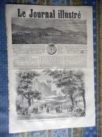 LE JOURNAL ILLUSTRE 27/08/1865 SAINT JEAN DE LUZ FOIRE BEAUCAIRE HUMOUR HERMANN KRETZSCHMER VICTOR EMMANUEL II CIBRARIO - Newspapers