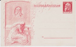 Bayern Privatganzsache PP 10 Pf Luitpold Trauer 1912 - Bavière
