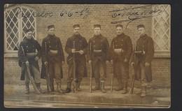 BEVERLOO * 1913 * SOLDATS BELGES * BELGISCHE SOLDATEN * FOTOKAART * CARTE PHOTO * GAND - Leopoldsburg (Camp De Beverloo)