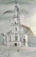 LITUANIA. CHIP. Kaunas Town Hall. LT-LTV-C014. (060). - Lituania