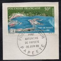 POLYNESIE FRANCAISE /1966 PA # 20 OBLITERE / COTE 12.50 EUROS (ref T1952) - Airmail