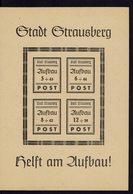 Allemagne - 1946 - Bloc N° 2 - Poste Locale Stadt Strausberg - Neuf - XX - TB - - Soviet Zone
