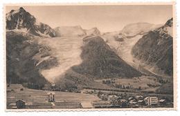 74 - CHAMONIX MONT BLANC - Village Et Glaciers Des Bossons Et De Taconnaz  - éd. LL N° 184 - Chamonix-Mont-Blanc