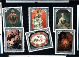 6586B)  CUBA 1975-OPERE - MUSEO ARTI DECORATIVE - SERIE COMPLETA -MNH** - Cuba