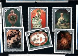6586B)  CUBA 1975-OPERE - MUSEO ARTI DECORATIVE - SERIE COMPLETA -MNH** - Nuovi