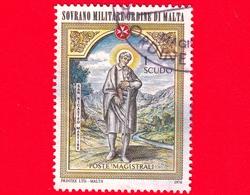 Sovrano Militare Ordine Di Malta - SMOM - Usato - 1976 - Natale 1976: Santi E Beati - 1 Scudo • San Nicastro Martire - Malte (Ordre De)