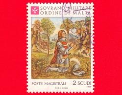 Sovrano Militare Ordine Di Malta - SMOM - Usato - 1979 - Natale 1979: Affreschi Del Pinturicchio - Alberto Aringhieri 2 - Malte (Ordre De)