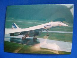 AEROPORT / AIRPORT / FLUGHAFEN     NURMBERG   CONCORDE AIR FRANCE - Aérodromes
