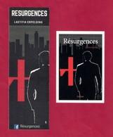 Duo Marque Page + Carte De Visite.   L. Erpelding.   Editions Edilivre.    Bookmark. - Bookmarks