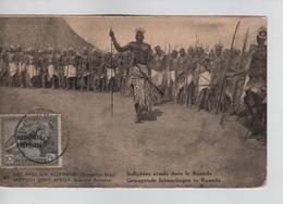 PR6703/ Ruanda Urundi E.A.A. Entier CP Vue 46 Palmier Surchargé 15 E.A.A.O.B Non Circulé - Postwaardestukken