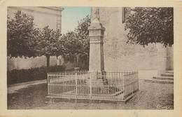 CPA 37 Indre Et Loire Villebourg Le Monument Aux Morts 1914-1918 - France