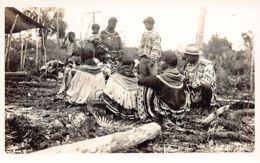 Florida - Semonile Native Americans - Everglades - REAL PHOTO Publ. The Excel Studios. - Indiens De L'Amerique Du Nord
