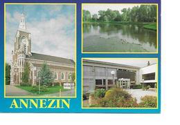 62 ANNEZIN Cpm Multivues - Francia