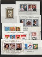 Luxembourg 1969-1988, MNH** (7h) - Briefmarken