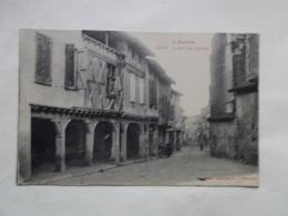 Carte Postale  - LEZAT (09) - La Rue Des Nobles (3116) - Lezat Sur Leze